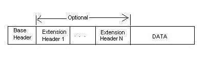 datagram format-IPv6
