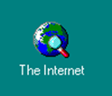 First IE desktop icon