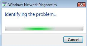 Intelligent network diagnostics for Windows 8 operating system