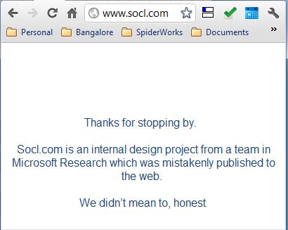 Socl.com domain current status