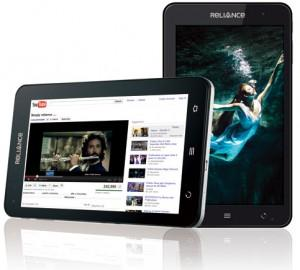 Cheap Android Reliance 3G tab tablet features and price in India
