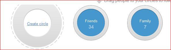 Share Circle in Google+