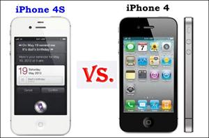 Apple iPhone 4S vs Apple iPhone 4 Specs Comparison