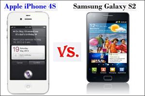 Samsung Galaxy S2 vs iphone 4S Comparison