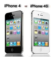 Apple iPhone 4S features and launching price in India compared to Apple iPhone 4
