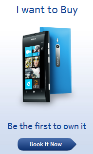 Windows Nokia Lumia 800 phone online and mobile booking details, features and buy price