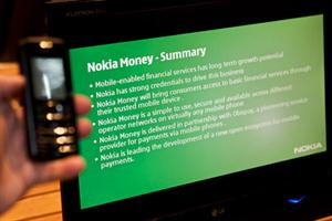 Nokia Money - Transfer money using mobile phone