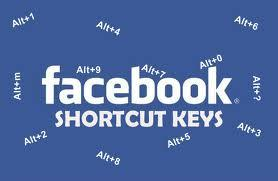 Facebook Shortcut keys