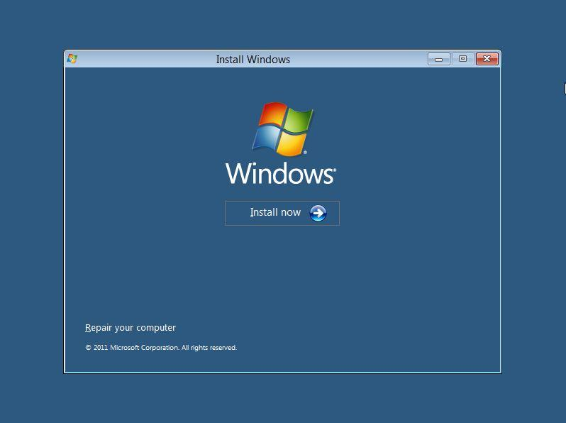 Windows 8 Install 1