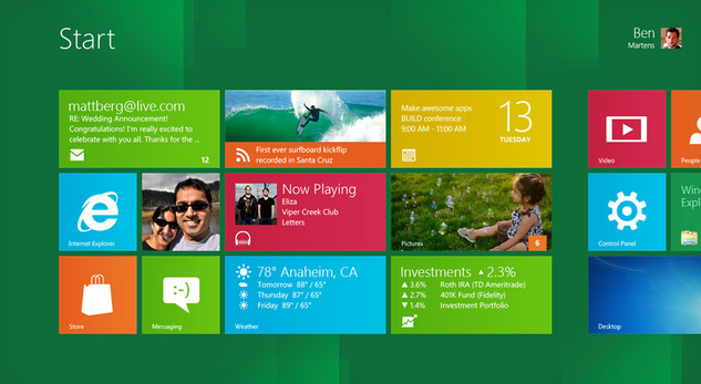 Windows 8 Consumer Preview Apps, Games and Release date revealed