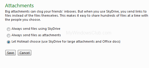 SkyDrive Hotmail integration security flaws