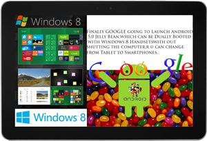 Android Jelly Bean 5.0 vs Windows 8