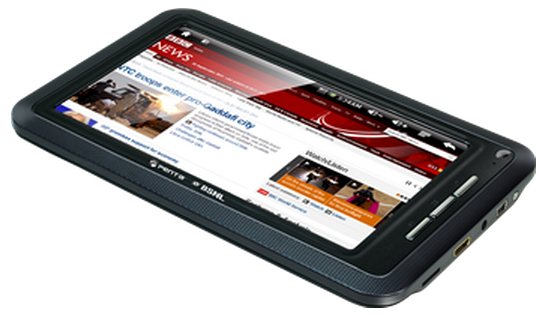 BSNL Tablet - Penta TPAD IS701R Specifications and Price