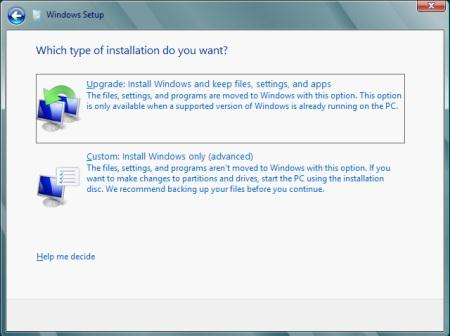 Windows 8 Setup Step 5