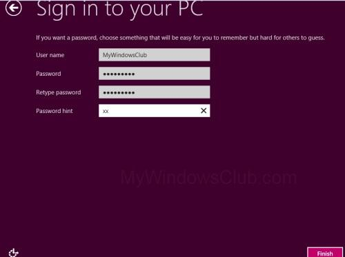 Windows 8 Setup Step 10