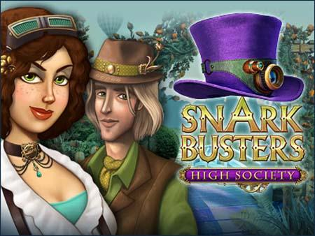 Snark Busters High Society logo
