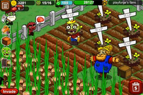 Zombie Farm screenshot