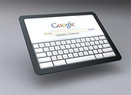 Google Tablet-look