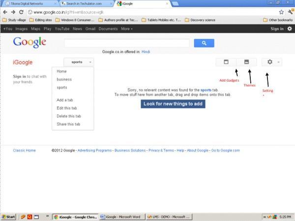 iGoogle image 4