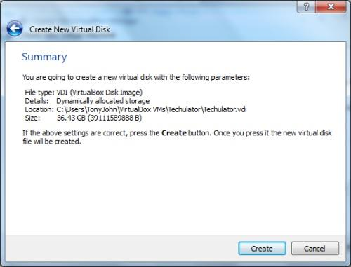 Windows 8 on Oracle VM VirtualBox