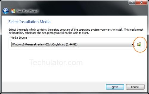 Windows 8 on Oracle VM VirtualBox