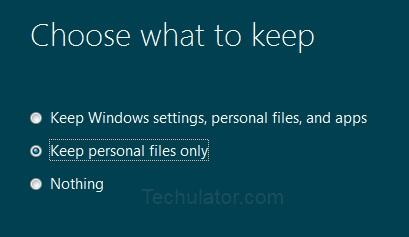 Upgrade to Windows 8