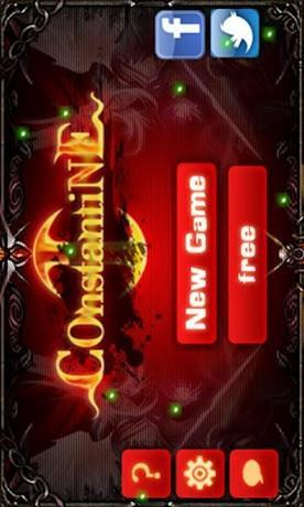 Constantine I Android game homescreen