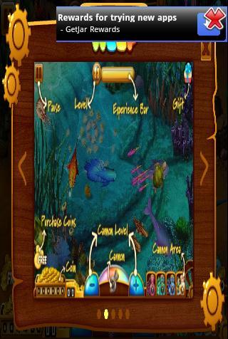Screen features in Fishing Girls