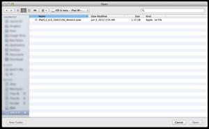 iOS 6 DP Installation 3