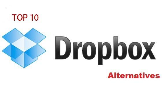 Top 10 alternatives for Dropbox