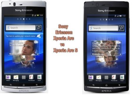 Sony Ericsson Xperia Arc VS Xperia Arc S