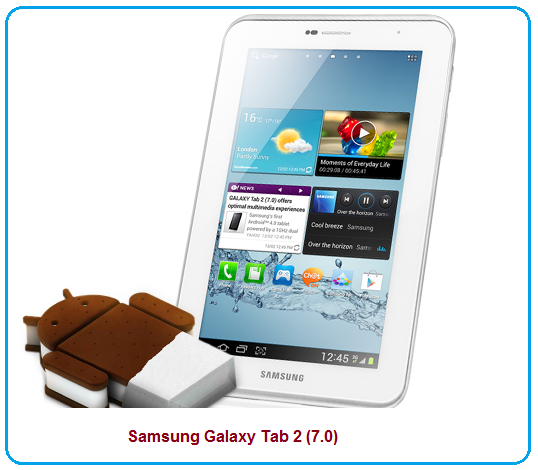 Samsung Galaxy Tab 2 (7.0) features/specifications and review