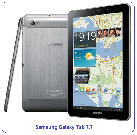 Samsung Galaxy Tab 7.7 (Verizon) features/specifications and review
