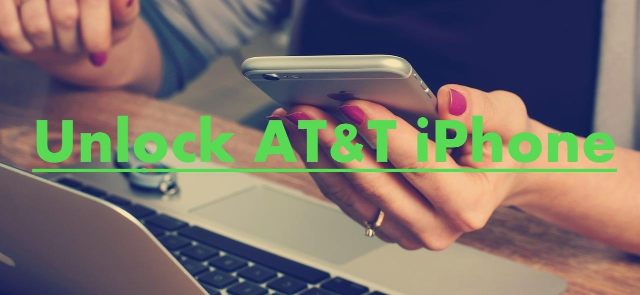 unlock AT&T iPhone legally