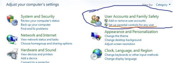 Windows 7 - Open Control Panel
