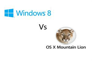 Windows 8 Vs Mac OS X Mountain Lion image