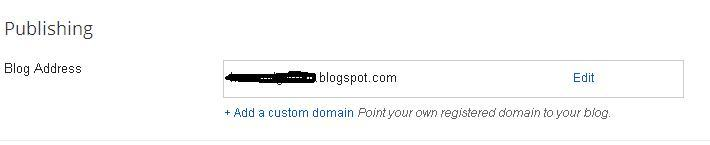 How to host blogger custom domain from Bigrock and redirect naked domain