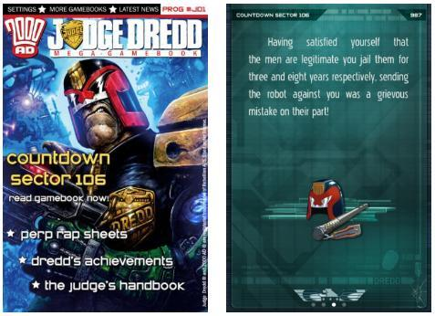 Judge Dredd Countdown Sector 106