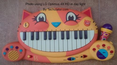 Photo using LG Optimus 4X HD in daylight