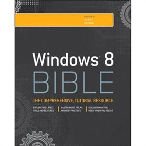 Windows 8 Bible book review