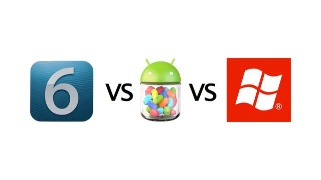 iPhone, Android or Windows Phone