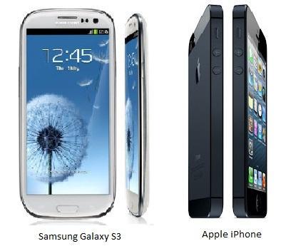 Samsung Galaxy S3 vs Apple iPhone 5 comparison image 3