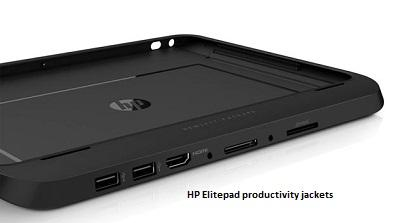 Productivity Jackets of HP Elitepad includes an integrated keyboard