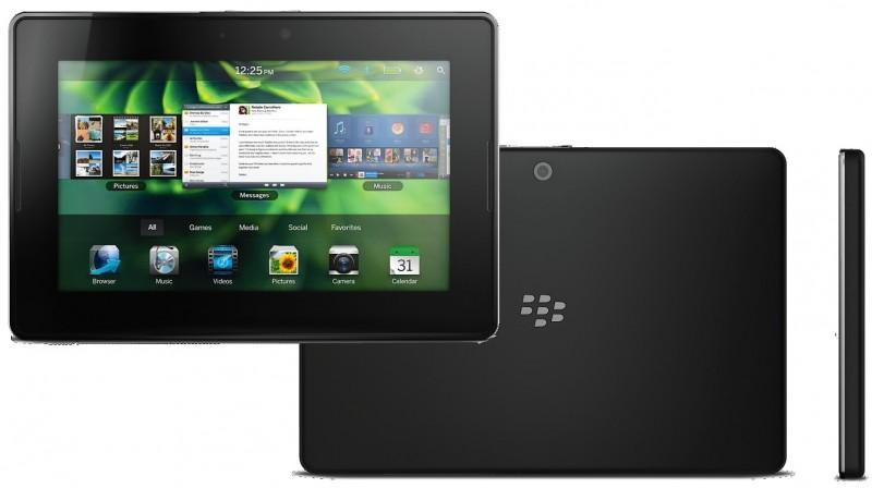 BlackBerry 4G LTE PlayBook: features