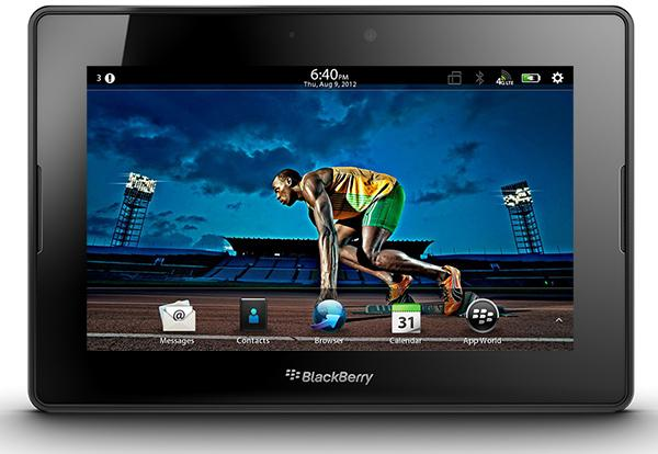 BlackBerry 4G LTE PlayBook: features and specifications