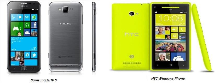 Samsung ATIV S vs HTC Windows Phone 8S comparison review image 1