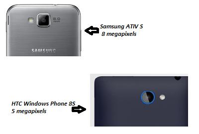 Samsung ATIV S vs HTC Windows Phone 8S comparison review image 2
