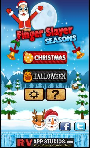 Finger Slayer Seasons Xmas logo