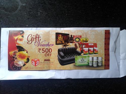 gift coupon