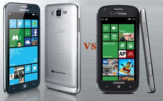 Samsung ATIV Odyssey VS Samsung ATIV S